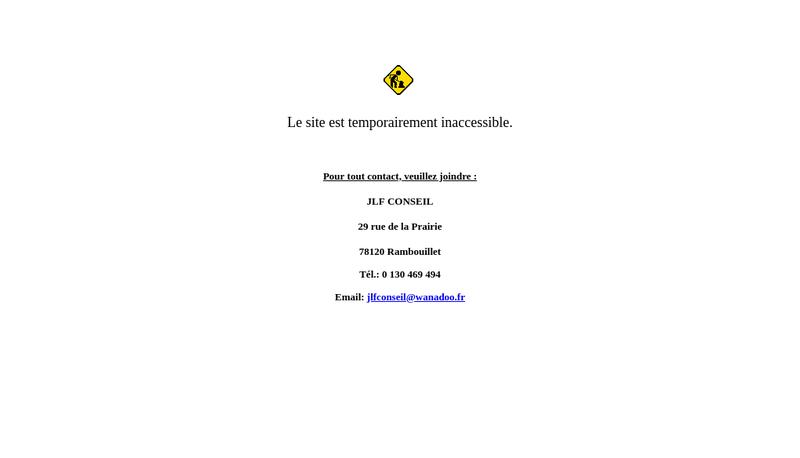 Site internet de Jlf Conseil