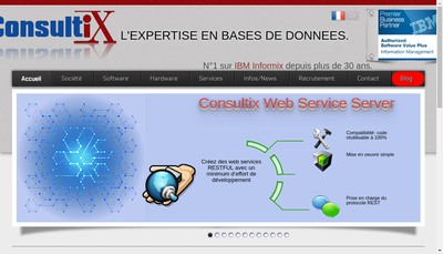 Site internet de Consultix