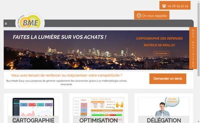 Site internet de Bme Consulting