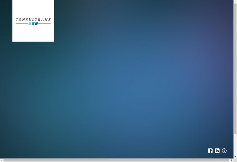 Capture d'écran du site de Consultrans