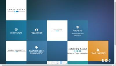 Site internet de Consultrans