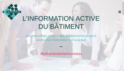 Site internet de Contact Business