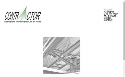Site internet de Contractor