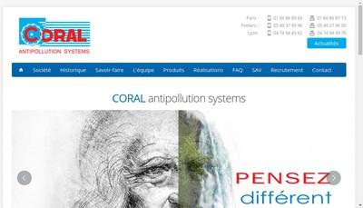 Site internet de Coral Promindus