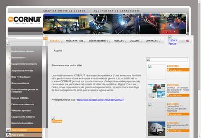 Site internet de Bras-Hydraulique