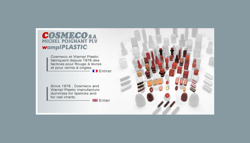 Capture d'écran du site de Cosmeco