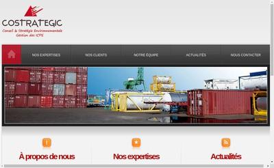 Site internet de Costrategic