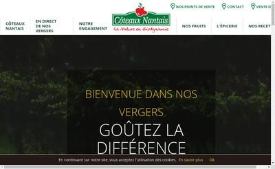 Site internet de Les Coteaux Nantais