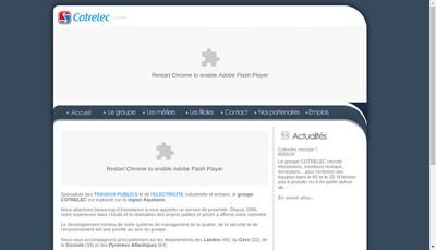 Site internet de Cotrelec