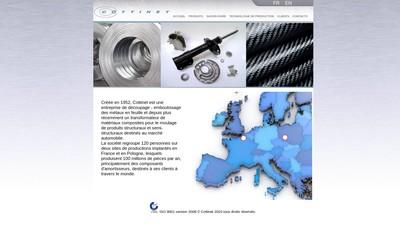 Site internet de SA Cottinet