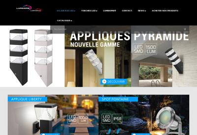 Capture d'écran du site de Cougnard