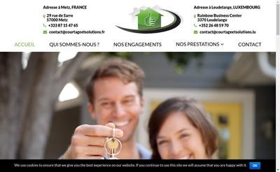 Site internet de SARL Courtage&Solutions