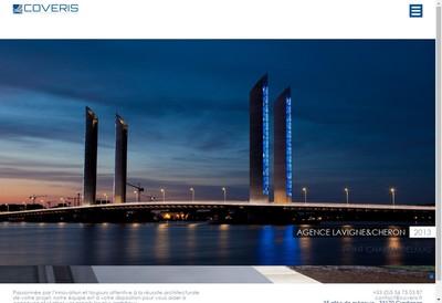Site internet de Coveris