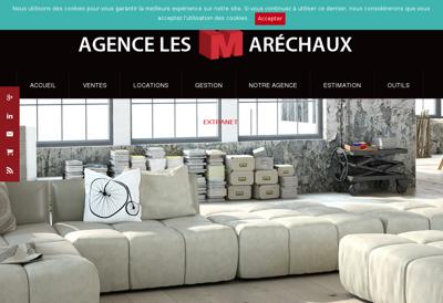 Capture d'écran du site de Alain Machera
