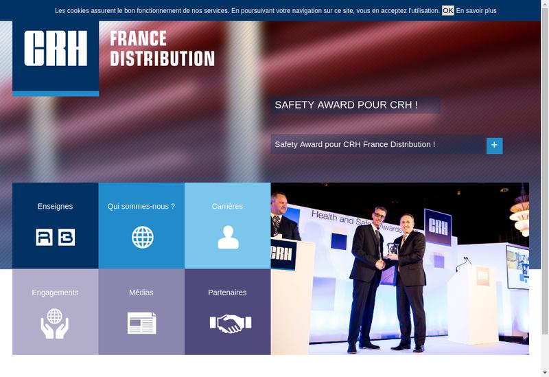 Capture d'écran du site de Raboni