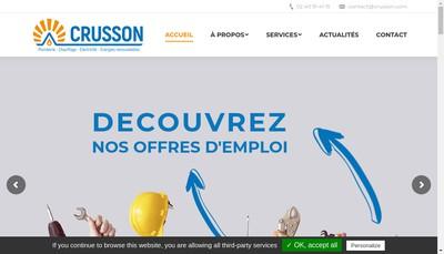 Site internet de Crusson