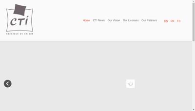 Capture d'écran du site de Chaulnes Textiles Industries
