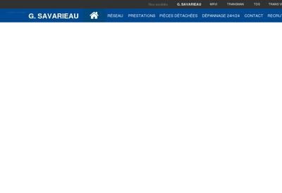 Capture d'écran du site de Cuisines 9.1