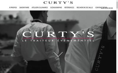 Site internet de Curty'S