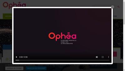 Site internet de Ophea