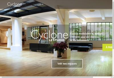 Site internet de Les Films du Cyclone