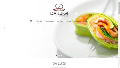 Site internet de Da Luigi