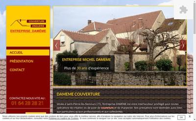 Site internet de Entreprise Michel Dameme