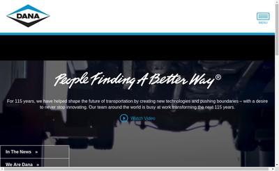 Site internet de Dana SAS