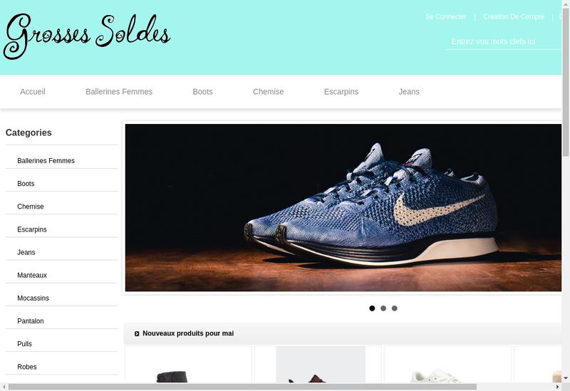 Capture d'écran du site de Daniel Seve