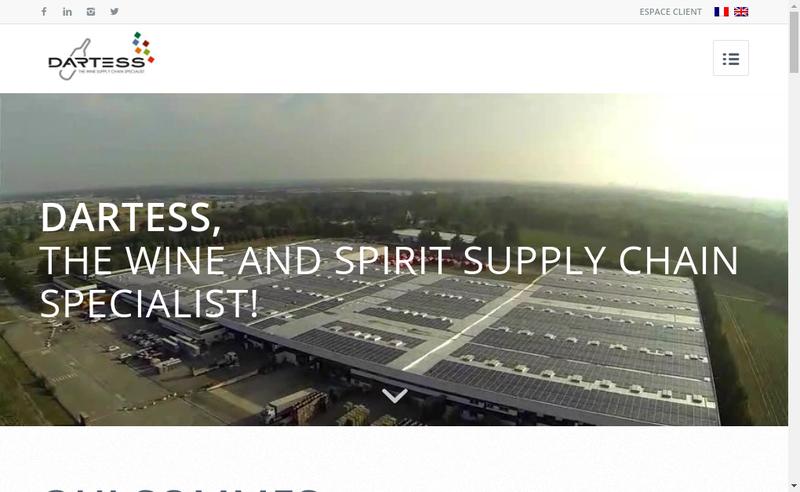 Capture d'écran du site de Dartess