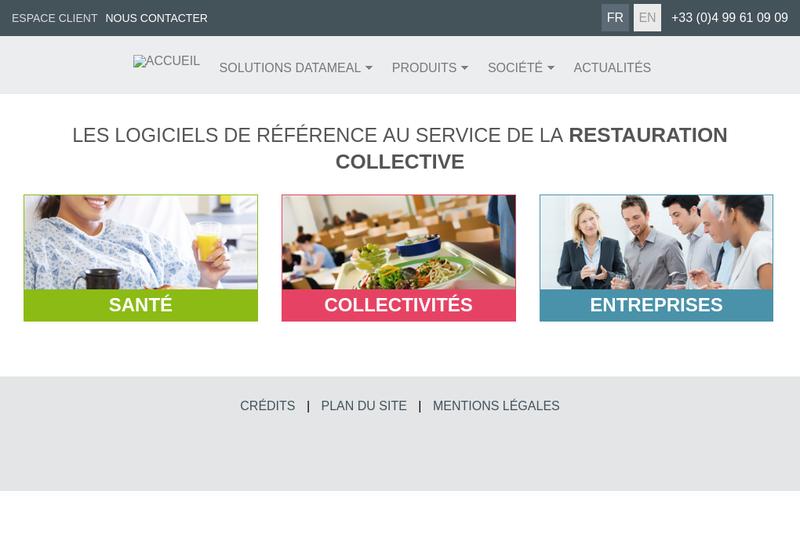 Capture d'écran du site de Pyramid Informatique