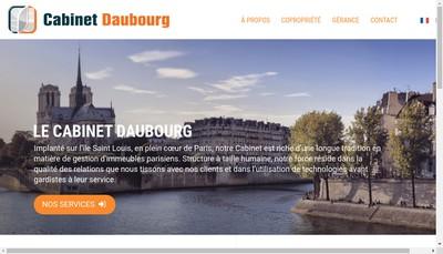 Site internet de Cabinet Daubourg