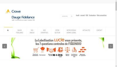 Site internet de Cabinet Dauge & Associes