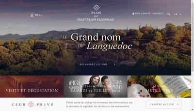 Site internet de Moulin de Gassac