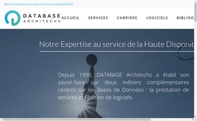Site internet de Database Architechs