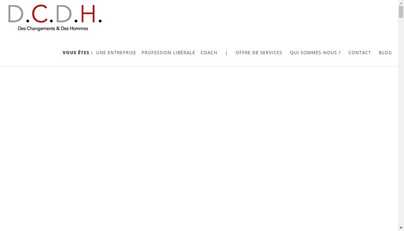 Site internet de Des Changements et des Hommes