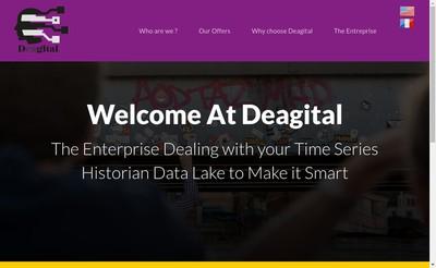 Site internet de Deagital