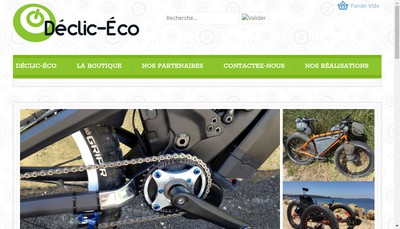 Site internet de Declic Eco