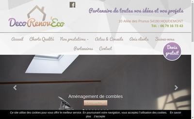 Site internet de Deco Renov'Eco