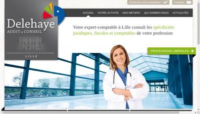 Site internet de Delehaye Audit & Conseil