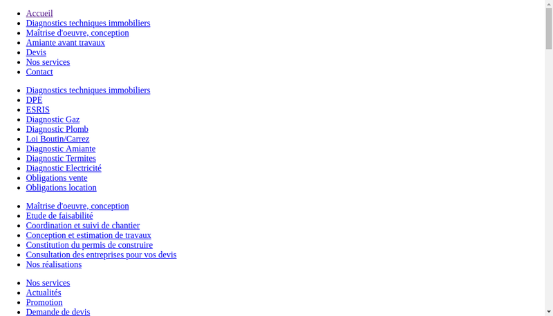 Capture d'écran du site de Delibe