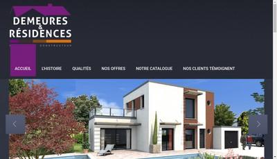 Site internet de Demeures et Residences