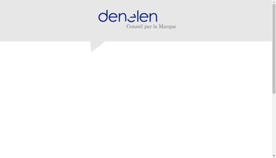 Capture d'écran du site de Denelen
