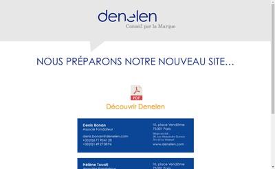 Site internet de Denelen