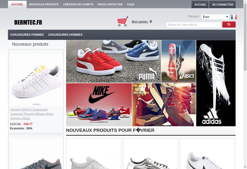 Capture d'écran du site de Bloomup