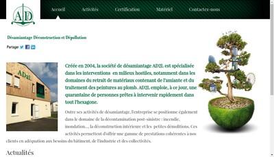 Site internet de Lp Location
