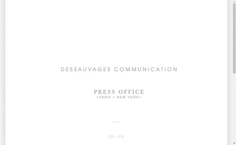 Site internet de EURL Dessauvages Communication