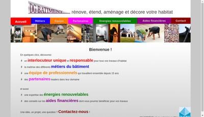 Site internet de Dg Batiment