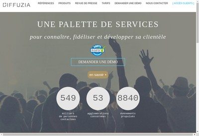 Site internet de Diffuzia