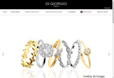 Site internet de Di Giorgio